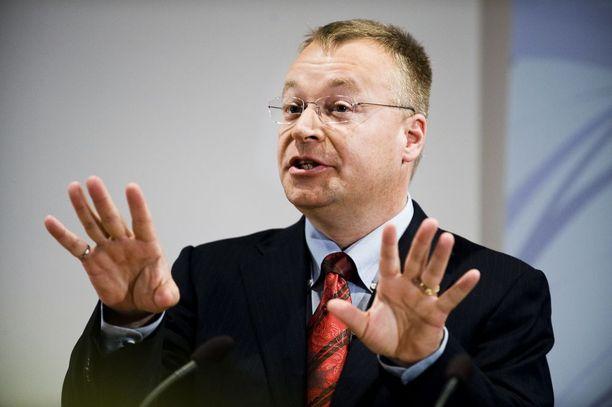 Kanadalainen Stephen Elop toimi Nokian toimitusjohtajana vuosina 2010-2013.