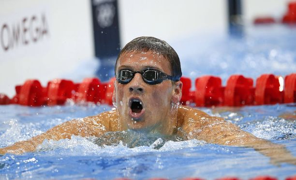 Ryan Lochte osaa uida, mutta itsensä hallitsemisessa on vaikeuksia.