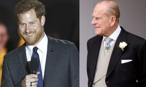 Prinssi Harry muistuttaa hurjasti isoisäänsä prinssi Philipiä. Se selviää Philipin nuoruuskuvasta vuodelta 1957.