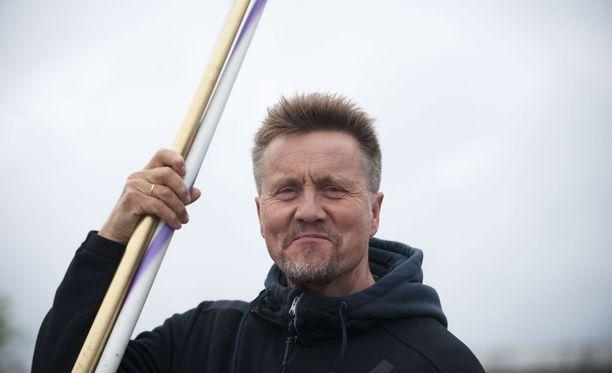Jyrki Blom aloitti keväällä Antti Ruuskasen valmentajana.