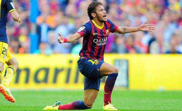 Neymar on yksi Barcelonan kirkkaimmista tähdistä.