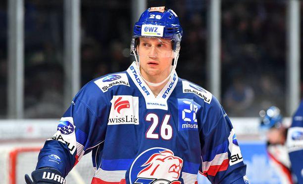 Lauri Korpikoski edustaa alkavalla SM-liigakaudella Turun Palloseuraa.