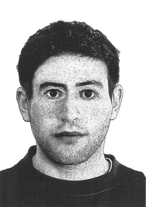 Pojan sillalla kuoliaaksi puukottaneesta miehestä julkaistiin piirroskuva. Hän muistuttaa supermarket-puukottaja Ahmad A:ta.
