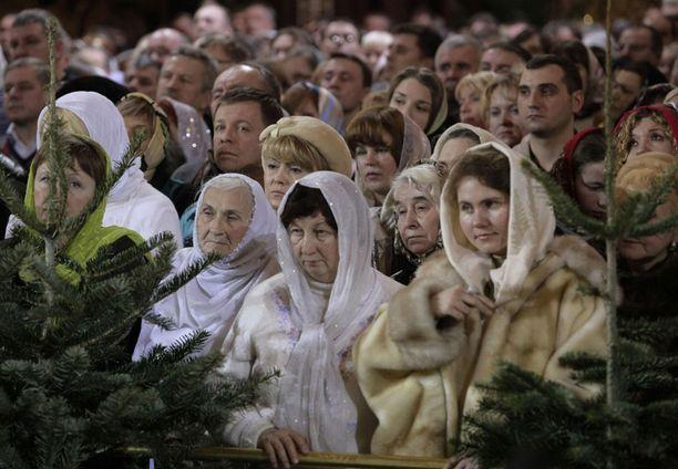 Ortodoksimaailma juhlii joulua 7. tammikuuta.