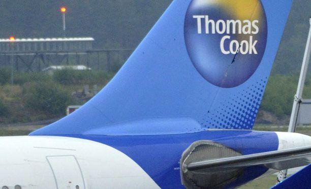 Vahinko sattui Thomas Cookin Airbus A321 -koneen kapteenille.