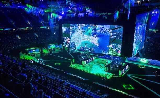 NHL-joukkue Vancouver Canucksin kotihalli Rogers Arena toimi Dota 2 -pelin maailmanmestaruuskilpailujen eli The International -turnauksen näyttämönä.