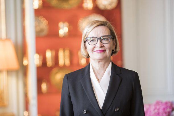 Puhemies Paula Risikko kehui eduskuntaryhmien yhteistyötä sopeutumiseläkeasiassa.