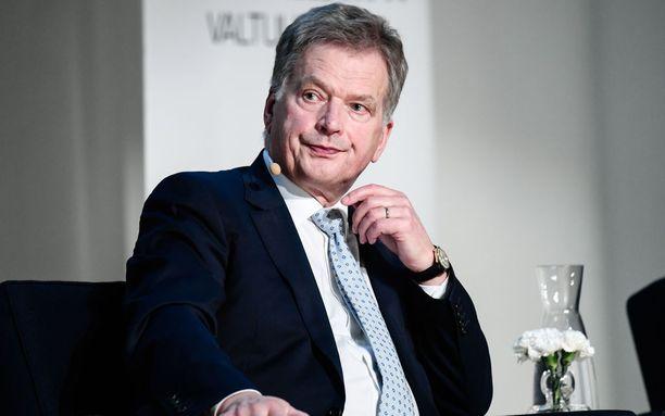 Suomessa käydään presidentinvaalit tammikuussa 2018. Sauli Niinistö pyrkii toiselle kaudelle.