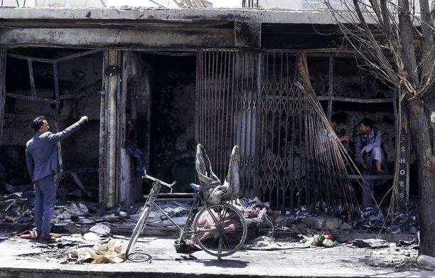 Viikko sitten itsemurhapommi-isku tehtiin Kabulin shiia-naapurustossa.