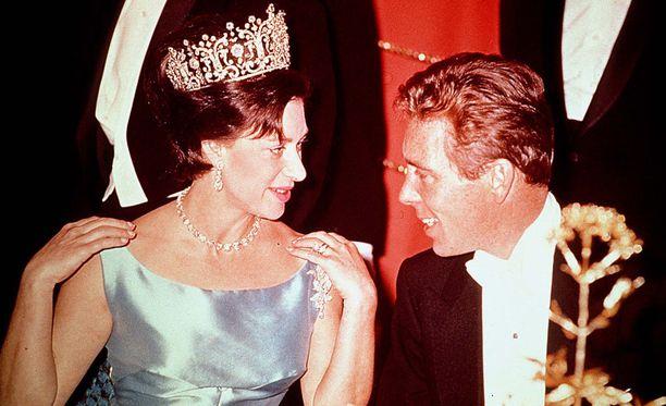 Prinsessa Margaret ja lordi Snowdon olivat naimisissa vuosin 1960-1978.