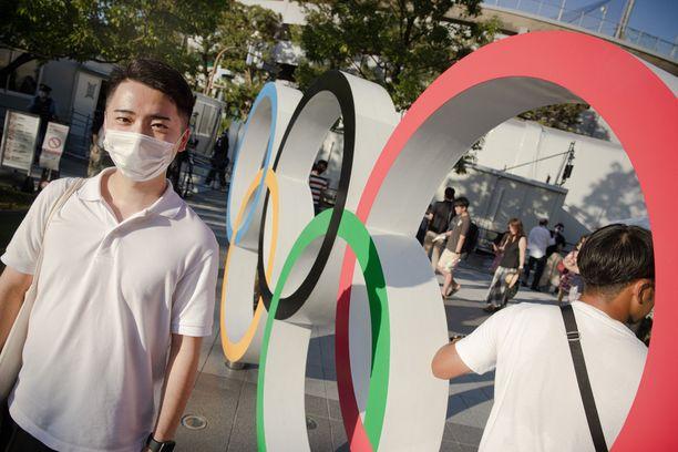 Masataka Abe kannattaa vahvasti Tokion olympiakisoja. – Koska Japani voi saada seuraavat kisat? Siihen menee vuosikymmeniä, hän toteaa.