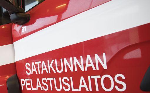 Onnettomuus valtatie 2:lla Kokemäellä – tie suljettu liikenteeltä