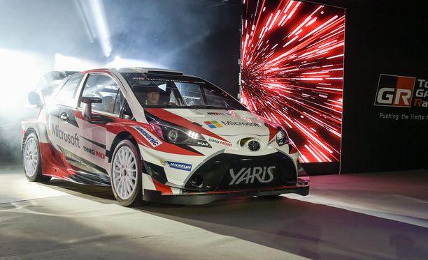 Tältä näyttää vuoden 2017 Toyota Yaris WRC.