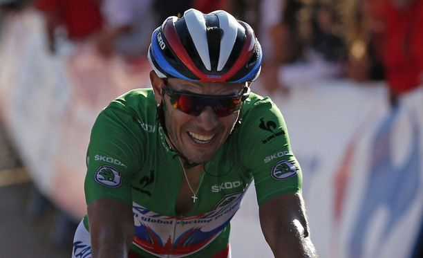 Joaquim Rodriguez nousi Vueltan piikkipaikalle.