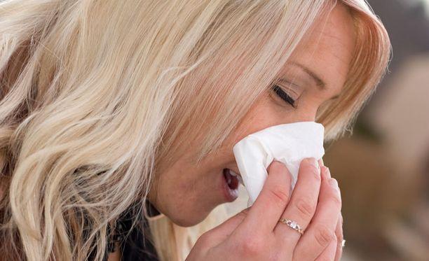 Astma ja allergia ovat lisääntyneet Suomessa.