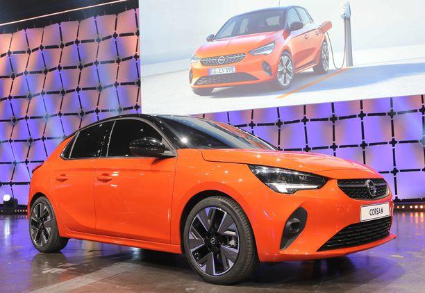 Opelin pikkuautosuosikin Corsan kuudes sukupolvi on varsin menevän näköinen.