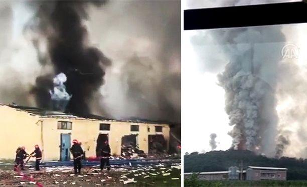 Kaksi ihmistä on kuollut räjähdyksessä.