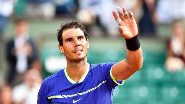 Rafael Nadal tyrmäsi vastustajansa totaalisesti.