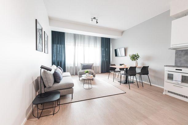 Huoneistohotellissa voi majoittua kodinomaisissa oloissa.