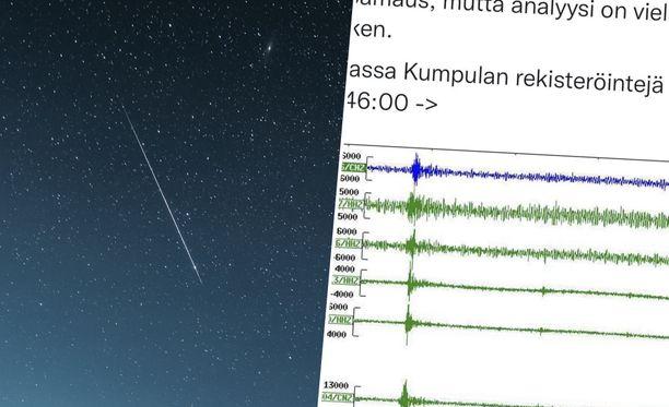 Mysteeripamauksen signaali näkyy Helsingin yliopiston laitteissa.