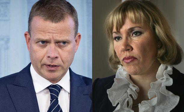 Petteri Orpo lähettää tylyt terveiset kokoomuksen entiselle kansanedustajalle Tuija Nurmelle.