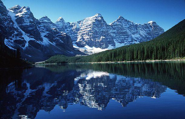 Kanadan Banffin upeita maisemia.
