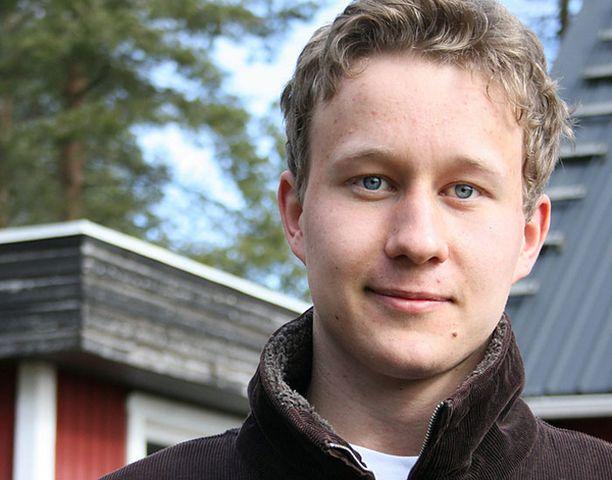 SYMPPIS Jussi Jukkola valloitti lukijat nuoren miehen karismallaan.