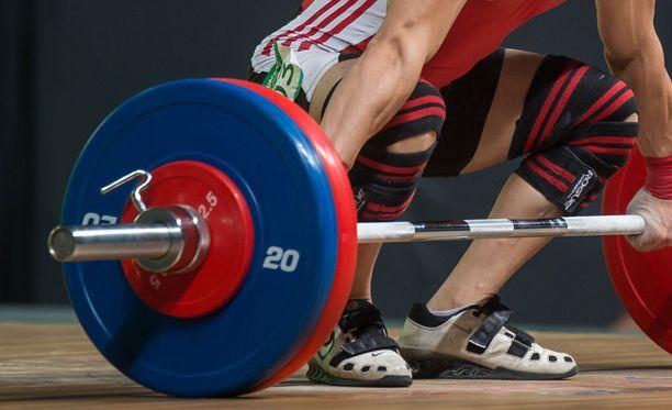 Venäläiset eivät kilpaile olympialaisten painonnostossa.