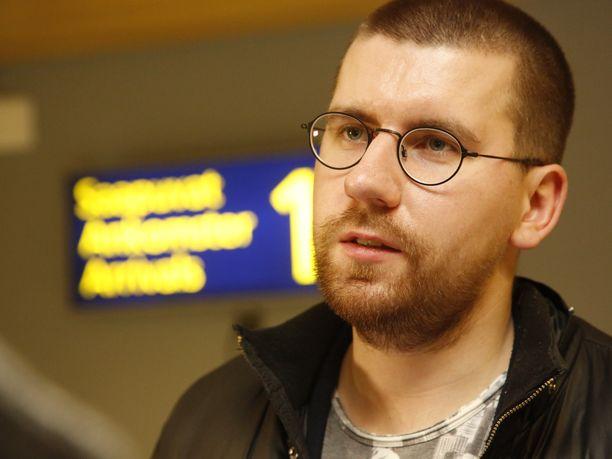 Sebastian Tynkkynen on perussuomalaisten ensimmäisen kauden kansanedustaja.