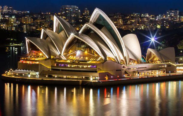 Australia osallistui valokuvakilpailuun tänä vuonna ensimmäistä kertaa ja pääsi heti kärkikymmenikköön ikonisella Sydneyn oopperatalolla.