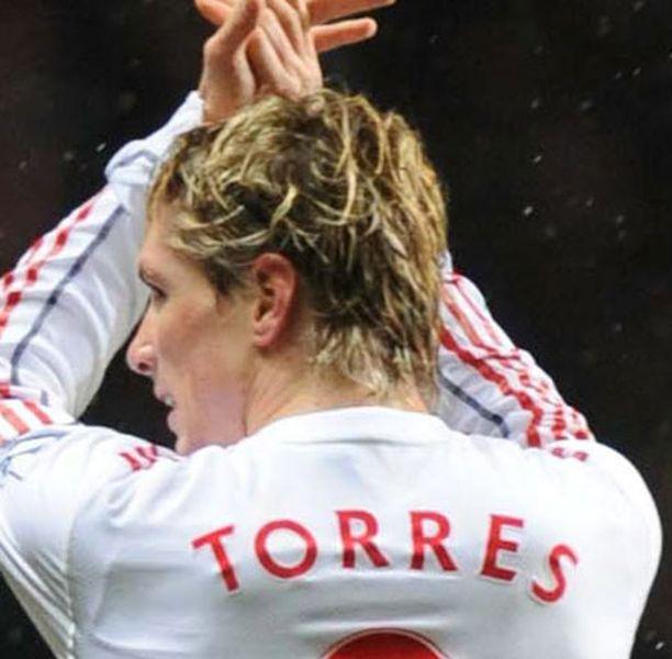 Fernando Torres juhli Villa Parkilla tiistai-iltana.