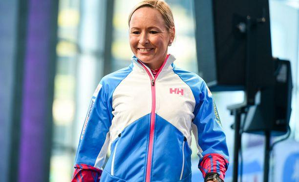 Riitta-Liisa Roponen tähtää presidentin siivittämänä mitaliin Lahden skiathlonilla.