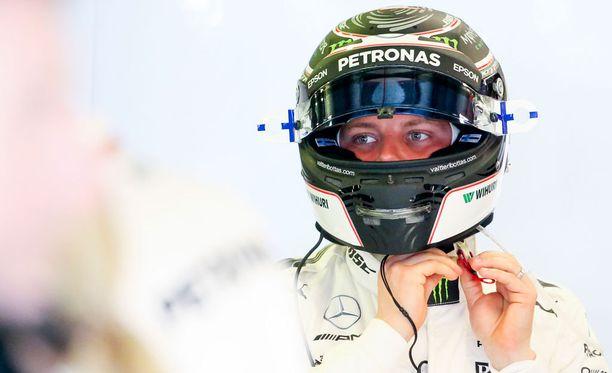 Valtteri Bottas oli perjantaina radan kolmanneksi nopein kuljettaja.