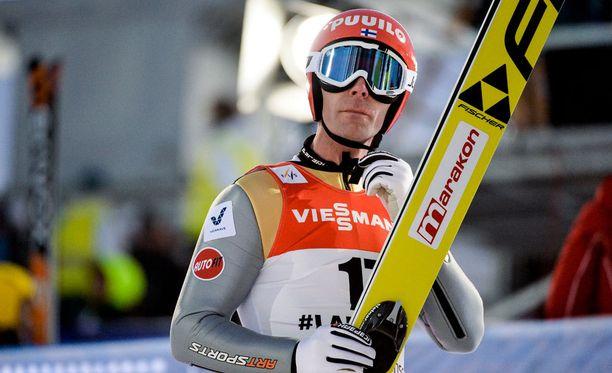 Janne Ahonen kuuli yleisön pauhun jopa hyppynsä aikana.