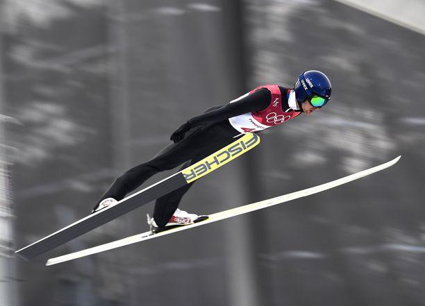 Jørgen Graabak voitti kaksi olympiakultaa Sotshin kisoissa.