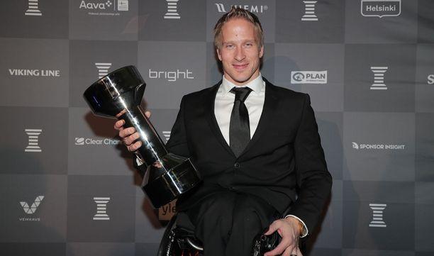 Leo-Pekka Tähti voitti Vuoden Urheilija -palkinnon vuonna 2017.
