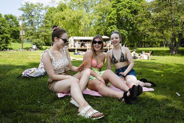 Tampereella nautittiin lämpimästä kesäsäästä kesäkuussa.