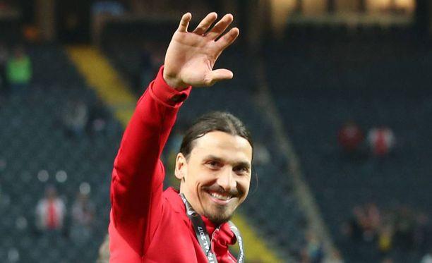 Zlatan Ibrahimovic ei jatka ManU:ssa.