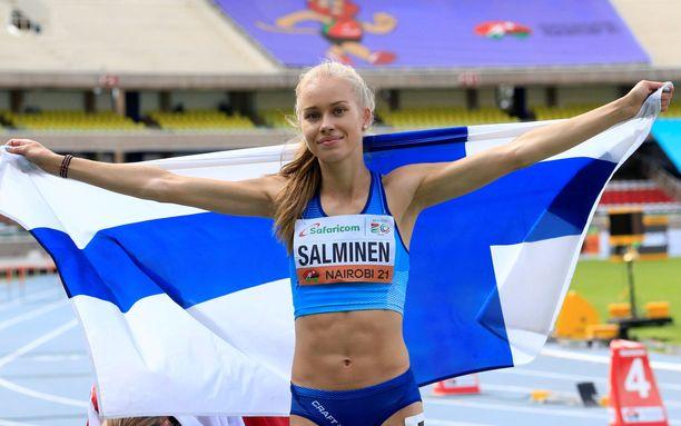 Heidi Salminen on maailmanmestari.