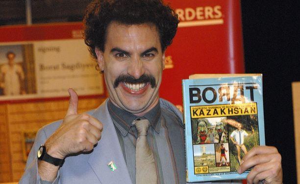 Vuonna 2007 ilmestynyttä Borat-elokuvaa tähditti Sacha Baron Cohen.
