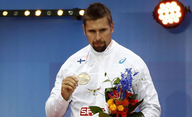 Antti Ruuskanen voitti EM-kisoissa pronssia.