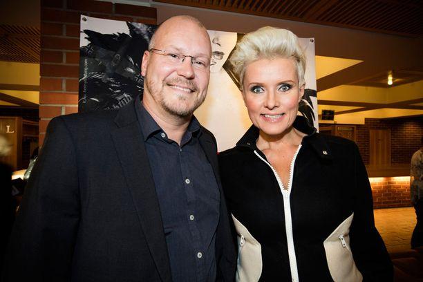 Kuvassa Janne Virtanen ja Hanna-Riikka Siitonen vuonna 2016.