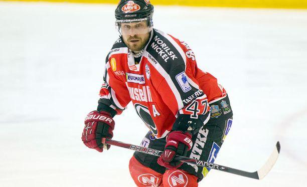 Tapio Sammalkangas joutui pelikieltoon.