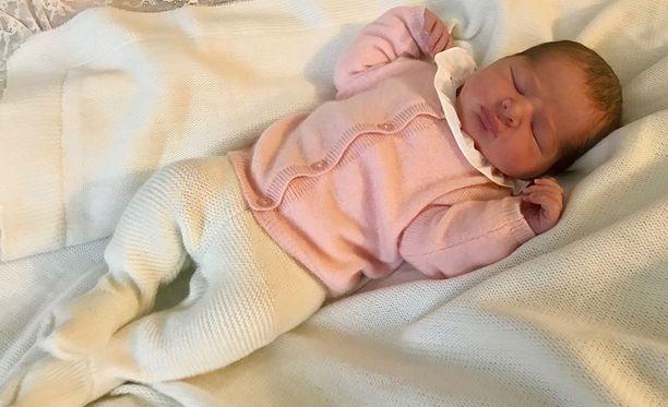 Prinsessa Adrienne syntyi 9. maaliskuuta.