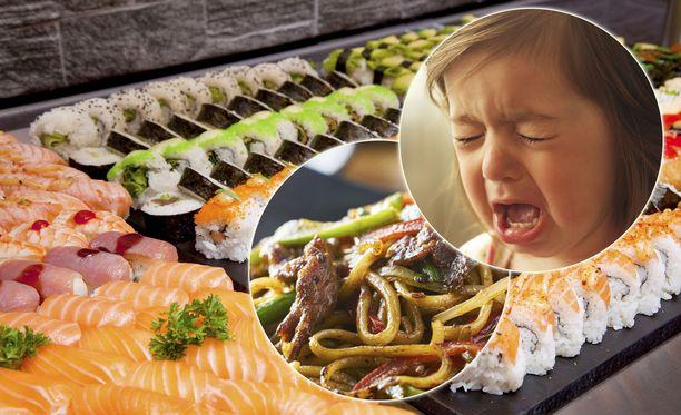 Lapsen itku on saanut tunteet kuumenemaan.