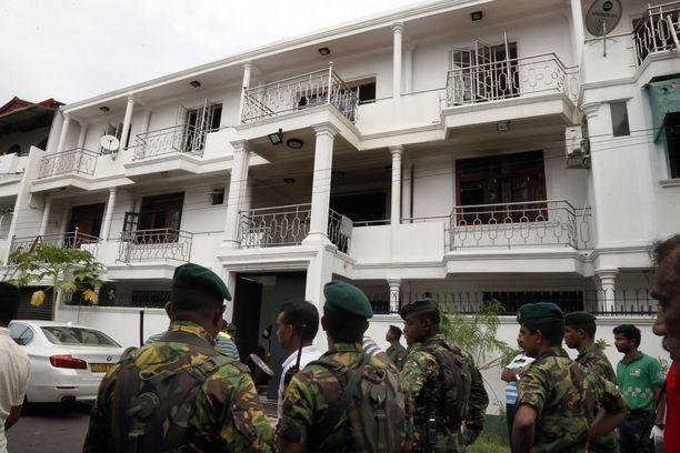 Muslimiveljesten pidätetyn isän omistama talo Sri Lankassa. Kuvituskuva