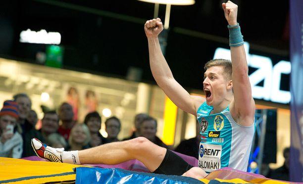 Eemeli Salomäki voitti SM-kultaa tuloksella 530.