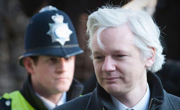 Julian Assangea epäillään Ruotsissa seksirikoksista.