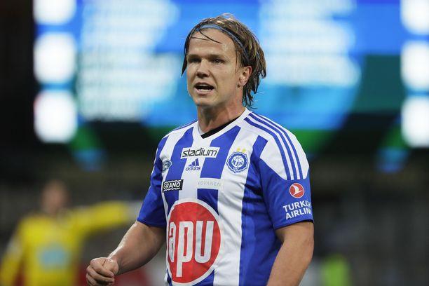 Petteri Forsell vei HJK:n johtoon FC Lahtea vastaan,