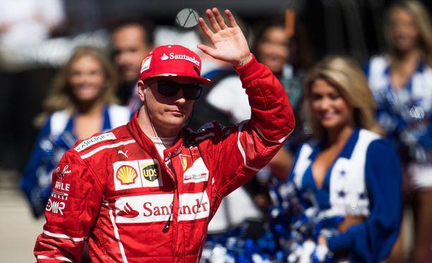 Kimi Räikkönen osoitti olevansa joukkuepelaaja.